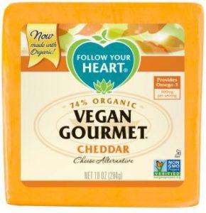 Best Vegan Cheese Brands - Follow Your Heart Vegan Cheese (Vegan Gourmet Cheddar Cheese Alternative)
