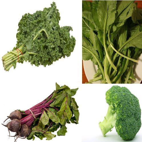 Healthy Vegan Diet: Green Leafy Vegetables