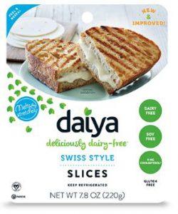 Best Vegan Cheese Brands - Daiya Vegan Cheese (Daiya Swiss Style Cheese Slices)
