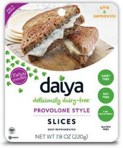 Best Vegan Cheese Brands - Daiya Vegan Cheese (Daiya Provolone Style Cheese Slices)