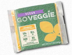 Best Vegan Cheese Brands - GO Veggie Sliced Cheddar Cheese