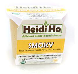 Best Vegan Cream Cheese Brands - Heidi Ho Organic Smoky Chia Cheeze