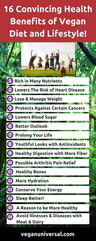 Pinterest Pin: Health Benefits of Vegan Diet and Lifestyle