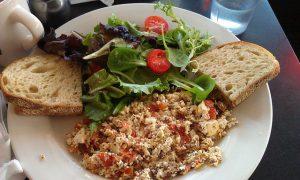 Tofu scramble - Best vegan egg substitutes, vegan egg alternatives, vegan egg replacement, vegan egg replacer