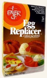 Ener-G Egg Replacer - Best vegan egg substitutes, vegan egg alternatives, vegan egg replacement, vegan egg replacer, Vegan Baking
