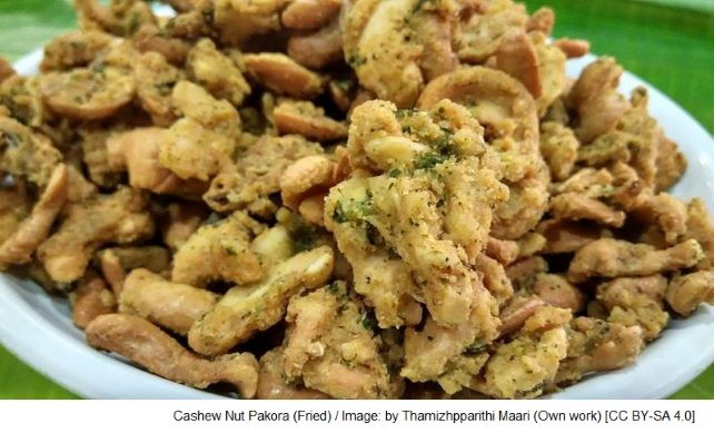 Cashew Nut Pakora (Fried)