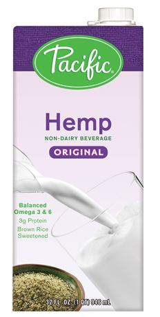 Natural Original Hemp Milk - vegan milk substitutes, plant milk, lactose free milk, vegan milk alternatives, non dairy milk, dairy free milk