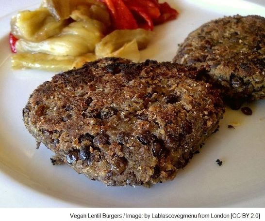 Vegan Lentil Burgers - Best vegan meat substitutes, imitation meat, vegan meat alternatives, vegan meat replacement, meat analogue