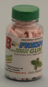 B-Fresh Gum - fortified foods