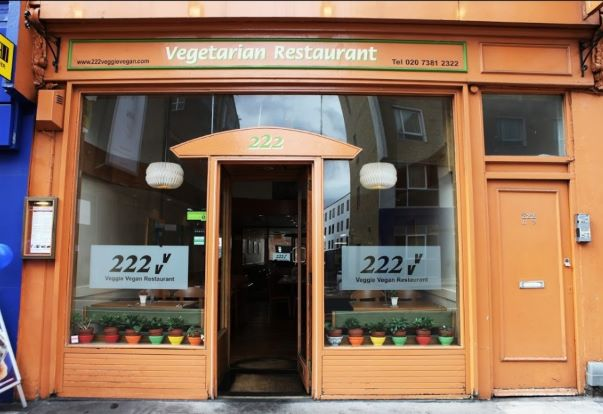 222 Veggie Vegan - London, United Kingdom - best vegan restaurants, top vegan restaurants, vegan restaurant guide