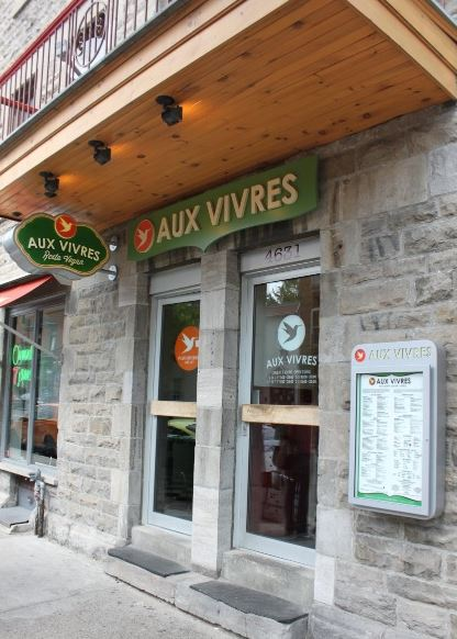 Aux Vivres— Québec, Canada - best vegan restaurants, top vegan restaurants, vegan restaurant guide