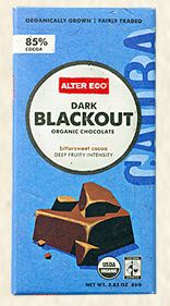 Alter Eco Dark Blackout Organic Chocolate Bar 85% Cocoa Review