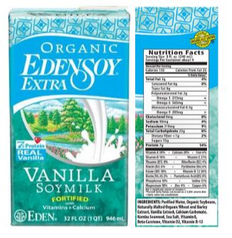 Edensoy Organic Extra Vanilla Soymilk Review
