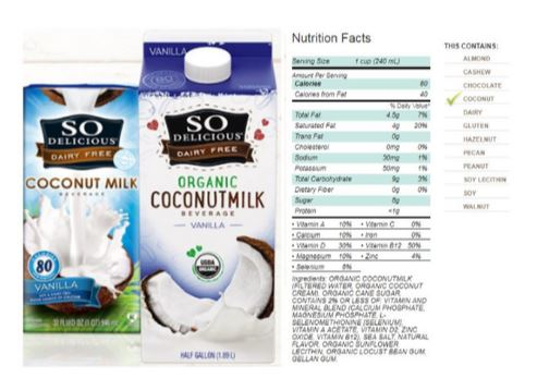 So Delicious Dairy Free Organic Coconut Milk Beverage Review