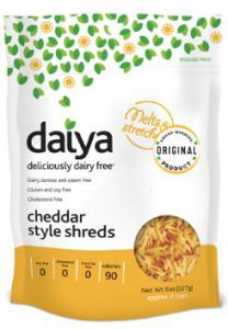Daiya Cheddar Style Shreds Review