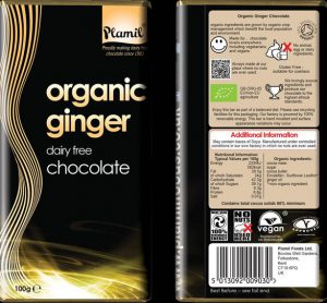 Plamil – Organic Ginger Chocolate 60% Cocoa Review