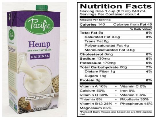 Pacific Foods Hemp Original Non-Dairy Milk Beverage Review