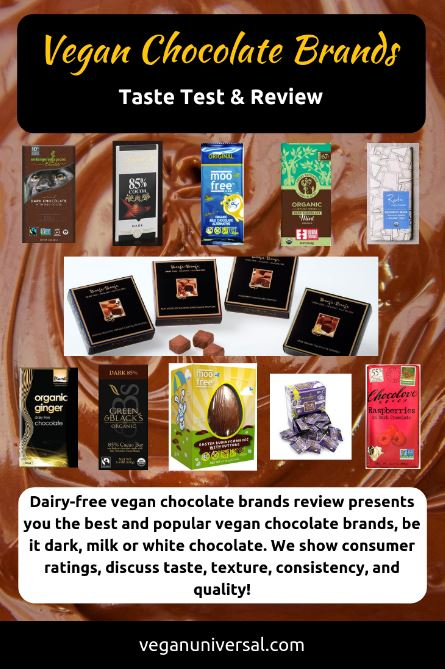 Dairy-Free Vegan Chocolate Brands Review