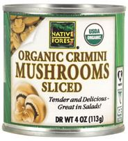 Native Forest Organic Sliced Crimini Mushrooms Review