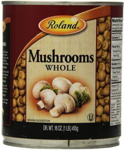 Roland Whole Mushrooms