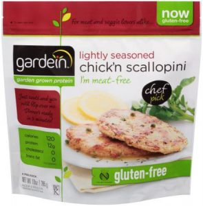 gardein™ Lightly Seasoned Chick'n Scallopini