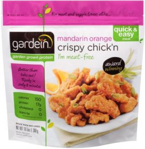 gardein™ Mandarin Orange Crispy Chick'n Review