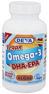 Vegan Omega 3 DHA & EPA Supplement