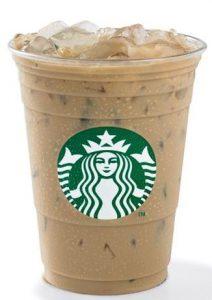 Starbucks Vegan Espresso Iced Vanilla Latte