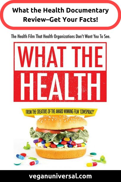 Pinterest Pin: What the Health Documentary Review