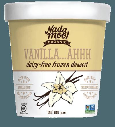 Vegan Vanilla Ice Cream NadaMoo - Best Plant-Based Vegan Food For Sex Drive