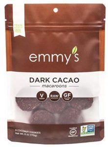 Emmy's Organic Macaroon Dark Cacao Cookies Taste Test