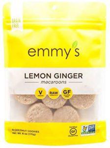 Emmy's Organic Macaroon Lemon Ginger Cookies Taste Test