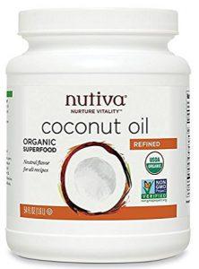 Nutiva Organic Neutral Tasting Steam Refined Coconut Oil Review