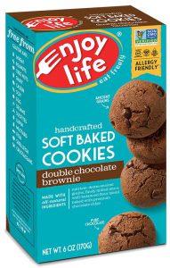 Enjoy Life Soft Baked Double Chocolate Brownie Cookies Taste Test
