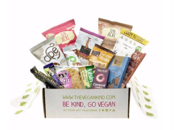 "Vegan ""Snack Attack"" Gift Box - Vegan Christmas Gifts"