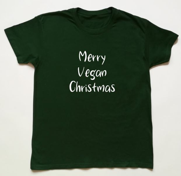 Vegan & Christmas Themed T-Shirts, Sweatshirts and Hoodies - Vegan Christmas Gifts