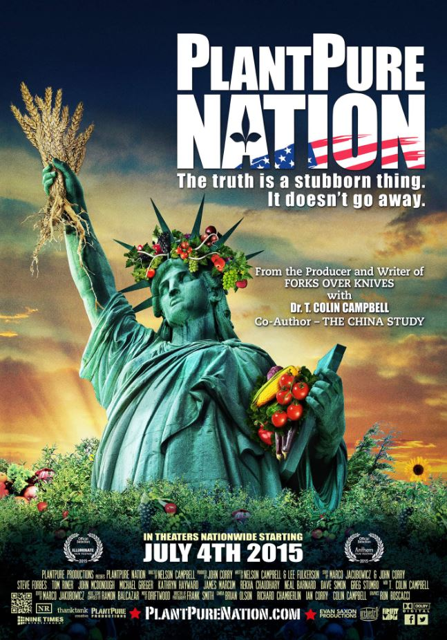Health & Food Industry Related Documentaries - Plantpure Nation (2015)