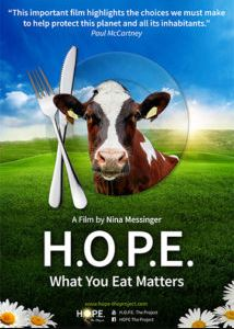 Documentaries for Environment & Species Extinction - H.O.P.E What You Eat Matters (2016)