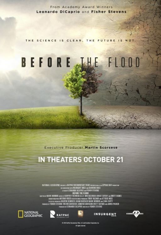 Documentaries for Environment & Species Extinction - Before The Flood (2016)