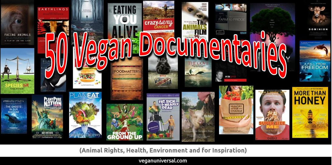 Vegan Documentaries to Watch (Animal Rights, Health, Environment and for Inspiration)