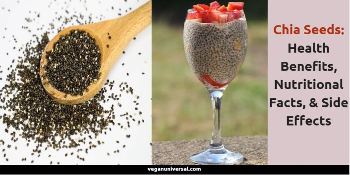 Health Benefits of Chia Seeds, Nutritional Facts, & Side Effects