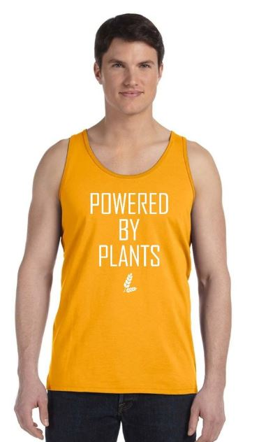 Vegan Men's Sports/Fitness/Gym/Yoga Tank Top