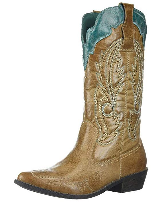 Women's Vegan Faux Leather Non Leather Western Boots