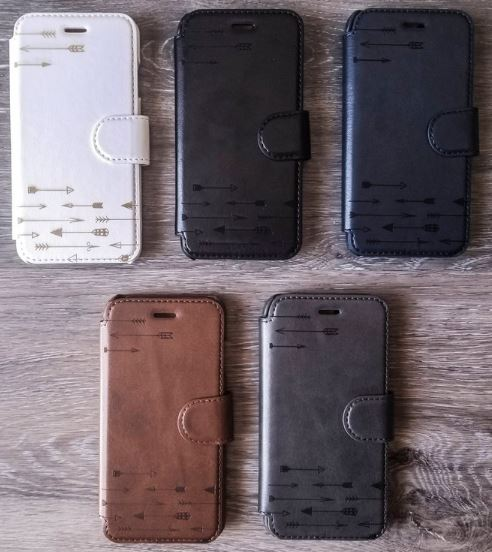 Vegan Faux Leather iPhone, Samsung Cases