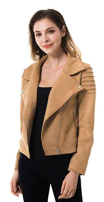 Women's Vegan Faux Leather Jackets