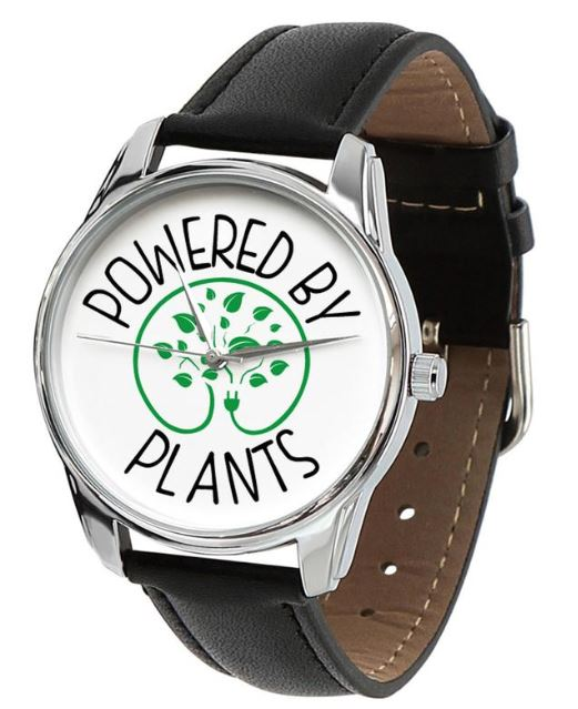Powered by Plants–Vegan Unisex Watch