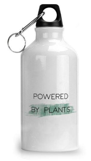 Powered By Plants–Eco-friendly Water Bottle
