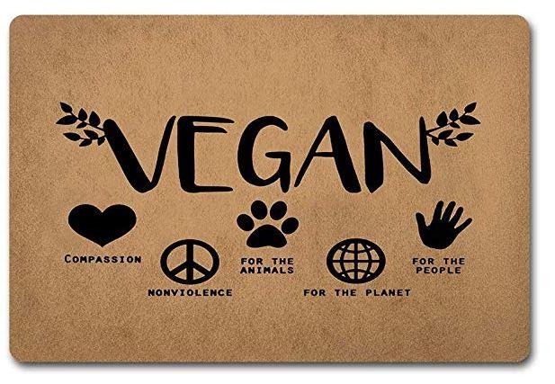 Vegan Welcome Door Mat