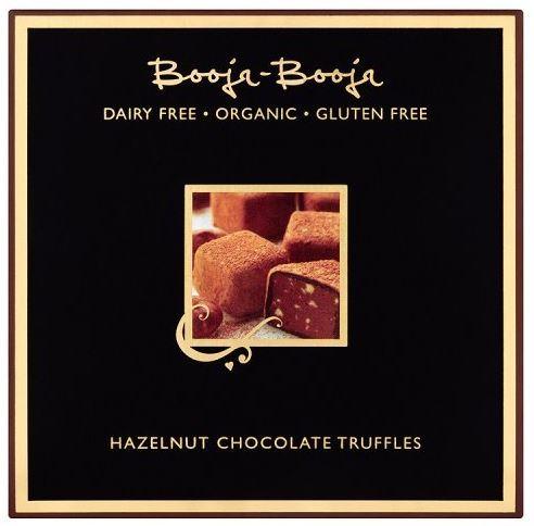 Booja Booja Dairy-Free Vegan Hazelnut Crunch Chocolate Truffles