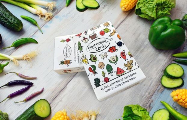 Vegan Plant-Based Educational & Funny Card Game